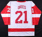 Adam Oates Signed Detroit Red Wings White Jersey (JSA COA) NHL Hall of Fame 2012
