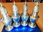 Pepper Shakers Antique INTERNATIONAL STERLING Silver Berkeley