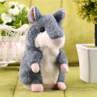 Hot Speak Talking Record Nod Hamster Mouse Plush Kids Toy Russian Gift hs