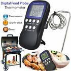 Digital Food Probe Oven Thermometer Timer Temperature Sensor Cooking Bakinlc