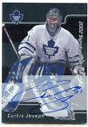 01-02 BE A PLAYER BAP SIGNATURE AUTOGRAPH AUTO CURTIS JOSEPH LEAFS SP *48281