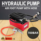 OEM Rolling Jack Pump Air Over Hydraulic Foot Pump Hose Coupler Pedal-Control
