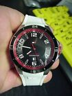 Tommy Hilfiger 24h Diver Men Sport White Rubber Date Watch 48mm TH.184.1.27.1274