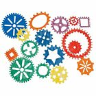 Roylco R-58624 Gear Stencils, 16 Pieces
