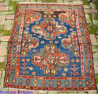 Antique Persian Village  Tribal Kurd Rug c. early 1900s