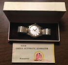 Vintage 1958 Men's Omega Seamaster Cal. 500 Automatic with Original Box 14k GF