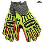 Ironclad Impact Medium Gloves Refinery Cut 5 Knit ~ New