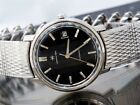 Hamilton Swiss Watch Men's Automatic Stainless Steel Black Vintage 694 A Caliber