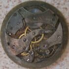 Eberhard Pocket Watch movement & dial 45 mm. in diameter Balance Broken