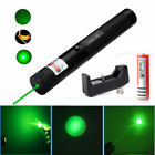 Green 303 Laser Pointer Pen 532nm Burning Lazer 1MW Red+18650 Battery Charger