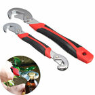 Hot 2Pcs Functional Universal Quick Snap'N Grip Adjustable Wrench Spanner Tool