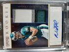 2012 NICK FOLES AUTO panini prominence PATCH rc Card 125 SUPER BOWL