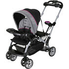 Baby Trend Sit 'N Stand Ultra Double Stroller, Millennium Raspberry Infant