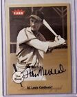 2002 Fleer Greats of the Game STAN MUSIAL On Card Auto SP CARDINALS