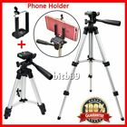 Universal Aluminum Portable Camera Tripod Stand + Holder For Canon Nikon iPhoME