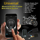 Motorcycle GPS Tracker + One Way Remote Engine Start Keyless Entry Alarm System