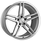 20 VERTINI RF16 FORGED SILVER CONCAVE WHEELS RIMS FITS TESLA MODEL S