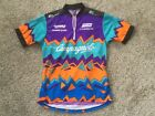 VTG GIORDANA Gatorz Cycling Jersey Campagnolo Green DT Swiss Sz M Mens Norco