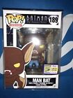 Funko Pop Man Bat SDCC exclusive Batman Animated