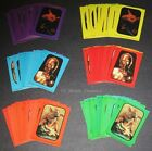 STAR WARS RETURN OF THE JEDI S1 © 1983 Topps Complete (66) ROTJ Sticker Card Set