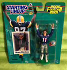 2000 2001 Hasbro Starting Lineup NFL New England Patriots - DREW BLEDSOE MOC NEW