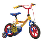 Boys 12 Bike With Stabilisers Kids Tiger Design First Cycle Childrens Bicycle