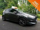 Ford Fiesta 15TDCi 2017 ST Line Grey 5dr Sat Nav one owner car finance