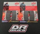 Cagiva 1000 Xtra Raptor 2002-2005 SBS Dual Sintered Front Brake Pads 706DS