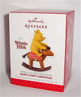 2013 DATED Hallmark - BABY'S FIRST 1ST CHRISTMAS  - WINNIE THE POOH ornament
