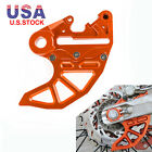 For KTM CNC Billet Rear Brake Disc Guard Mount 125 250-530cc SX XC F EXC XC-W SD