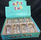 SET OF 8 HAPPY TIME GLASSES BY ANCHOR HOCKING NIB