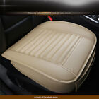 Edge Wrapping 3d Car Front Seat Protector Cushion Cover Pad Mat Auto Chair Pu
