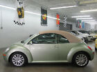 Volkswagen New Beetle Convertible 2dr Automatic SE 8000 includes FREE SHIPPING 1 OWNER CLEAN CARFAX FLORIDA NONSMOKER GEKCO AUTO