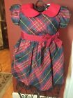 Boutique Colkection by Imagewear Girls Sz. 9 Months Cheistmas Holiday Dress