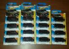 2011 HOT WHEELS THE A TEAM GMC PANEL VAN LOT 2 SHORT CARD+14 LONG CARD HTF RARE