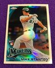 $150 MINT 2010 Topps Chrome REDEMPTION REFRACTOR Giancarlo Mike Stanton ROOKIE
