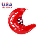CNC Front Brake Disc Rotor Cover Guard For Honda CRF450R X CRF 250R X CR125/250R