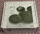 BRAND NEW IN BOX 5 PIECE DINNER PLACE SETTING HOMER LAUGHLIN FIESTA~SAGE