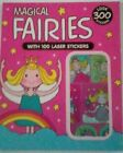 300 MAGICAL FAIRIES STICKERS BOOK 2O Designs Laser Card Making Free Post