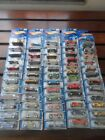 Hot Wheels diecast car lot60 mixed blue carded vehicles90s early 2000s
