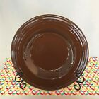 Fiestaware Chocolate 12 inch Pasta Bowl Fiesta Retired Brown Wide Rim Bowl NOP