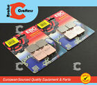 2004 - 2006 DUCATI 749 DARK - FRONT EBC HH RATED SINTERED BRAKE PADS - 2 PAIRS