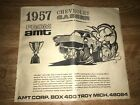vintage 1960s AMT 57 Chevy instruction sheet