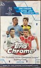 2017-18 Topps Champions League Chrome Soccer Factory Sealed Hobby Box Ships 4 18
