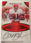 2017 Panini Immaculate Priest Holmes Autograph 13 20 Chiefs