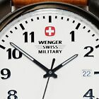 Wenger Swiss Military Men's  Watch  with Brown Leather Band