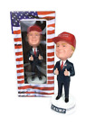 Donald Trump Limited Edition Bobblehead Toy Figurine Signature Campaign Hat an
