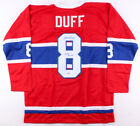 Dick Duff Signed Montreal Canadiens Jersey Inscribed