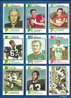1973 Topps Football set lot of 231 diff cards Spurrier Dawson Biletnikoff Lilly