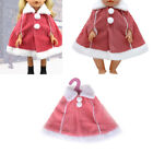 Doll Fashion Winter Cloak Clothes Fit 43cm Amerian Girl Zapf Baby Born Doll HU